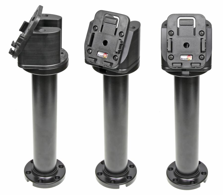 Pedestal Mount for cable entry