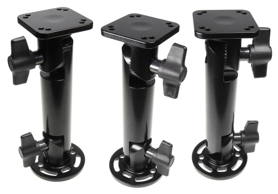 Pedestal Mount with wingnut