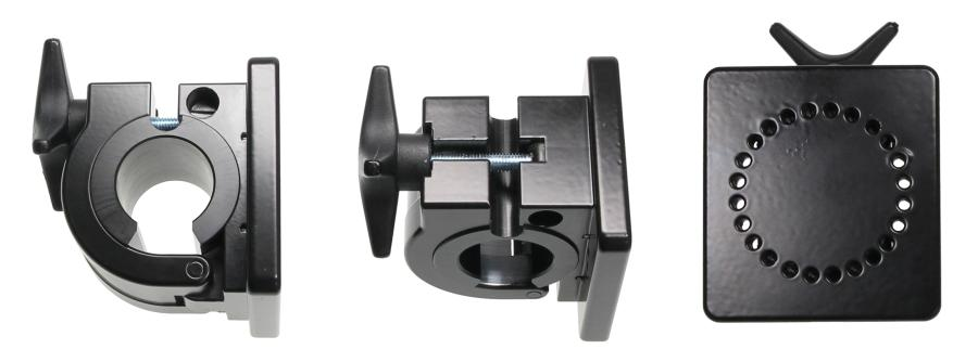 Pipe Mount with mounting plate