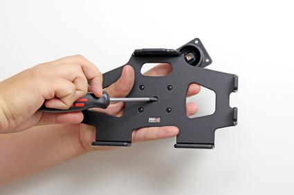 Passive holder with tilt swivel