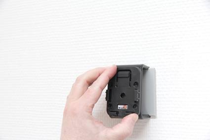 Holder with external antenna connection