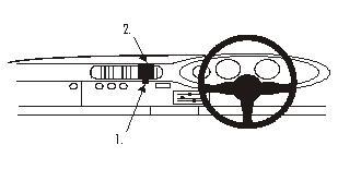 ProClip Center mount