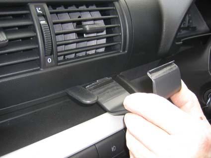 Brodit ProClip 853620 montaje consola para Volkswagen Fox año de fabricación 2005-2011
