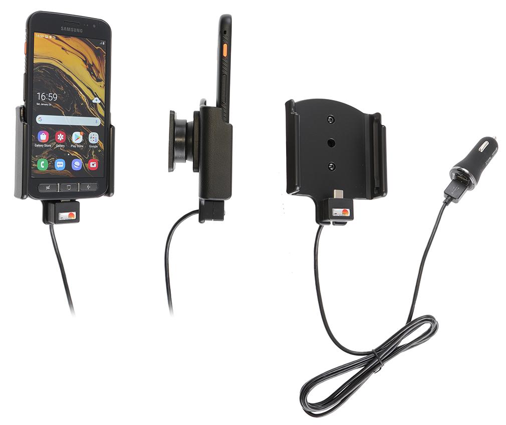 Aktiv hållare med cigg kontakt Med USB kabel med cigg