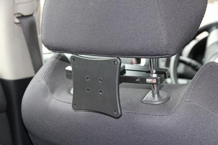 Headrest mount VESA