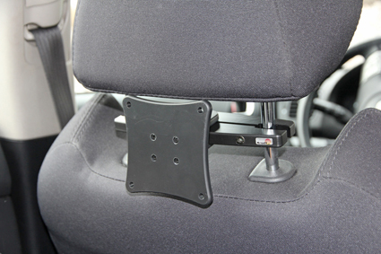 Headrest mount VESA