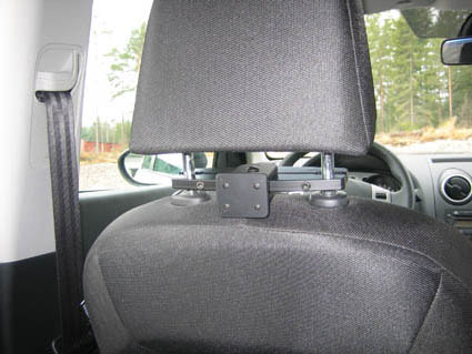 Headrest mount