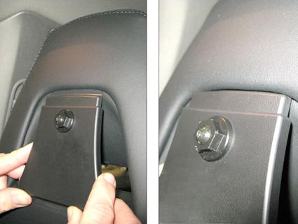 Headrest mount